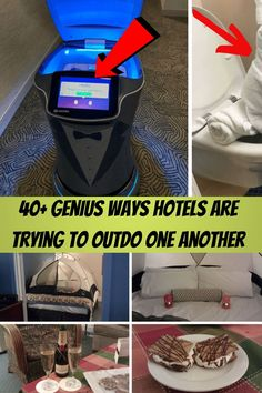 #Genius #Ways #Hotels #Trying #Outdo Super Funny Videos, Funny Short Videos, Funny Animal Videos, Edgy Eye Makeup, Grunge Makeup, Diy Crafts To Do, Upcycled Crafts, Wood Entertainment Center, Summer Family Photos