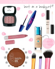 Starter Kit for Makeup Beginners on a Budget!
