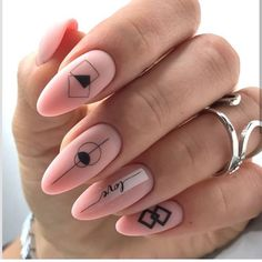 Semi-permanent varnish, false nails, patches: which manicure to choose? - My Nails Classy Nails, Trendy Nails, Cute Nails, Gel Nail Art Designs, Cute Nail Designs, Pastel Nails, Pink Nails, Best Acrylic Nails, Manicure E Pedicure