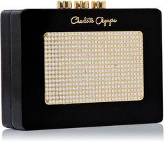 Charlotte Olympia Black Wireless Clutch