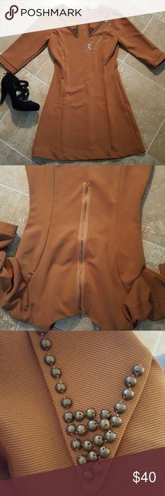 MODCLOTH 60S INSPIRED DRESS MODCLOTH 6PS INSPIRED DRESS. LIKE NEW. SIZE SMALL. WARM MATERIAL. Mona B Dresses Midi