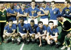 Brazil won the world cup in 1958 for soccer/football