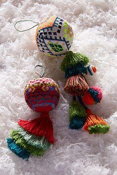 Embroidered Ferrara Ornament
