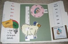 Phonics lapbooks. This one is for words with -am