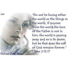 Do not be loving the world