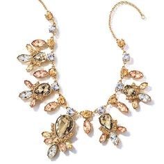 """Goldtone with faux stones. 16 1/2"""" L with 3 1/2"""" extender. Regularly $24.99, buy Avon Jewelry products online  at http://eseagren.avonrepresentative.com"""