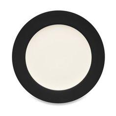 18 Noritake® Colorwave Rim Dinner Plate in Graphite - BedBathandBeyond.com