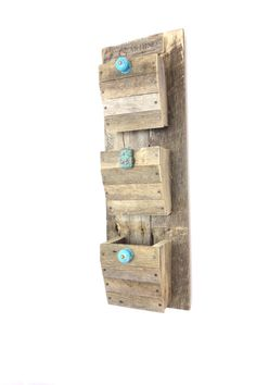 Rustic Garden Decor made from Reclaimed Lumber  by ProsserBrosInc