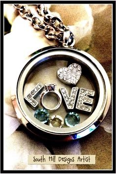 A beautiful locket for your valentine!  southhilldesigns.com/janicepalumbos