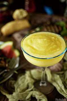 Fresh Pineapple Margarita Cocktail Recipe | PasstheSushi.com