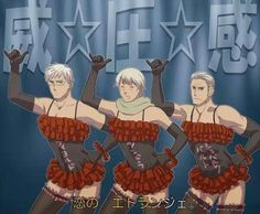 Sweden Russia amd Germany Hetalia Funny...... let this just soak in