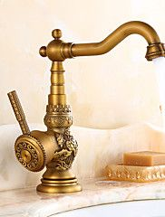 Antique+Bar/Prep+Deck+Mounted+Rotatable+with+Ceramic+Valve+Single+Handle+One+Hole+for+Antique+Brass++Kitchen+faucet+–+USD+$+126.89