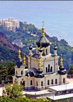 A Church in Crimea, Ukraine / Церква у Криму, Україна , from Iryna