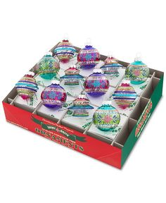 Christopher Radko Shiny Brite Christmas Carnival Collection - Christopher Radko - For The Home - Macy's