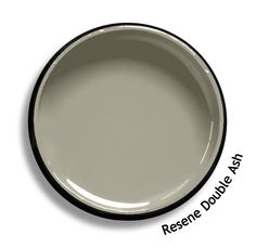 Resene Double Ash is a smoky neutral with a green edge. From the Resene Whites & Neutrals colour collection. Try a Resene testpot or view a physical sample at your Resene ColorShop or Reseller before making your final colour choice. www.resene.co.nz Yellow House Exterior, Exterior Paint Colors For House, Paint Colors For Home, Green Paint Colors, Roof Colors, Exterior Color Palette, Exterior Colors, Colorful Decor, Colorful Interiors