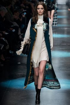 Roberto Cavalli Fall 2015 Ready-to-Wear Fashion Show - Dasha Denisenko