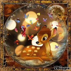 """Bambi - """"Live Love Laugh.. in Autumn time"""" by CarrieUnderwoodFAN5691"""