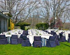 Montaje boda al aire libre de Real Club de Golf La Herrería