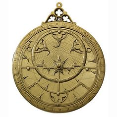 ca. 1345-55, [Hebrew astrolabe]    An astrolabe is an astronomical instrument that enables the user to determine the time during the day with the help of the sun, and at night with the help of the stars. It can also be used in the preparation of horoscopes and for surveying purposes – to name but a few of its functions.  Scientific instruments with Hebrew markings are extremely rare and only a handful are known to have survived.