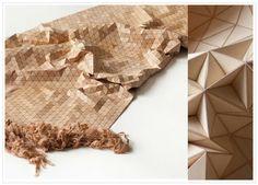 """""""wooden textiles"""" d'Elisa Strozyk"""