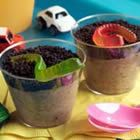Dirt Cups - Might be a fun alternative to cupcakes at one of the boys' bday parties...