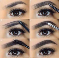 Tips to your Eyebrow Looks Eyebrow Makeup Tips, How To Do Makeup, Beauty Makeup, Makeup Eyebrows, Plucking Eyebrows, Henna Eyebrows, Eye Brows, Threading Eyebrows, Makeup Man