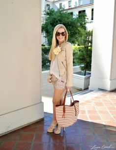 go monochromatic in neutrals #fashion