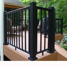 Begin your deck railing with a solid, long-lasting foundation with Aluminum Posts by AFCO. Gain a high-end look with minimal effort and upkeep thanks to the AFCO Pro Posts, a surface-mount aluminum deck post that allows you to seamlessly support your AFCO Pro Aluminum Railing or highlight a beautiful composite or wooden railing infill. Aluminum Porch Railing, Metal Deck Railing, Deck Railing Systems, Aluminum Decking, Porch Railings, Balcony Railing, Patio Roof, Stair Railing, Railing Design