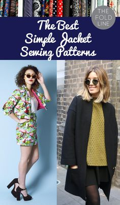 8 Simple Jacket Sewing Patterns for Spring