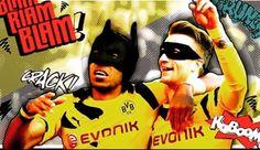 #bvbcomic #batman #robin #reus #aubameyang #beste
