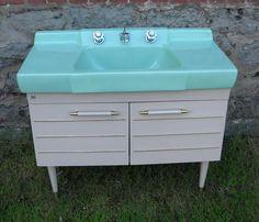 """Bathroom Vanities Youngstown Ohio five vintage lavanette """"vanette"""" bathroom vanities - oh my"""