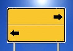 Kostenloses Bild auf Pixabay - Schild, Wegweiser, Rechts, Links