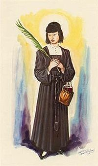 St. Magdalene of Nagasaki - died after 13 days of torture, ending in being suspended upside down.