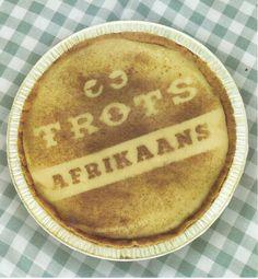 Afrikanerhart - die trekpad van 'n nasie Melktert, South African Dishes, African Love, Afrikaanse Quotes, Yummy Food, Tasty, Sweet, Desserts, Milktart Recipe