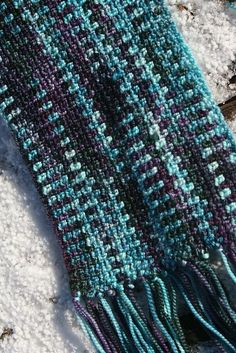 Ravelry: Crochet Linen Scarf pattern by Heidi Beukelman. Designed to mimic the knit linen stitch, with the perk that it's double sided and is a lot quicker to work up.