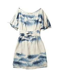 cloudy tunic with fabric paint