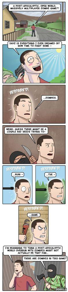 Siempre asi, Hay Zombies?