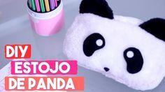 DIY Estojo de Panda Fofinho   Projeto DIY