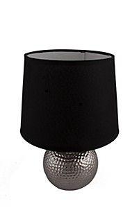 TEXTURED CERAMIC BALL LAMP SET