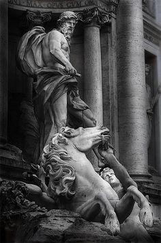 Rome ♠ Detalle de la Fontana di Trevi by goyo goyo on 500px