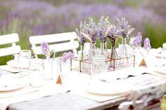 Inspirationen für eine romantische Lavendel-Hochzeit   Friedatheres