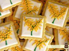 Biscotti con mimosa: per la festa della donna, ma non solo!