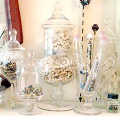 Love apothecary jars.