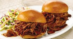 per serving. Sweet and tangy describe this mild, family-style BBQ pork ...