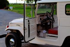 Amazing restoration and a great story!!!1962-toyota-land-cruiser-fj40-restored-white-rare-4×4-y   Land Cruiser Of The Day!