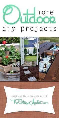 More Outdoor DIY Projects - The Cottage Market