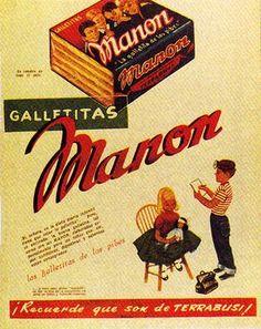 Publicidad retro Manon, Argentina