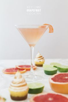 Key Lime Grapefruit Cocktail