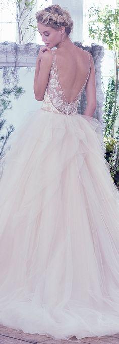 Wedding Dress by Maggie Sottero 2016 Fall/Winter Collection - Carlota | #maggiesottero #maggiebride