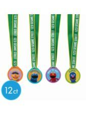 Sesame Street Party Award Medasl 12ct - Party City